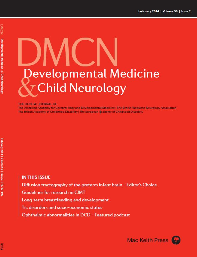 DMCN Discussion: 'Ophthalmic abnormalities in children with developmental coordination disorder'