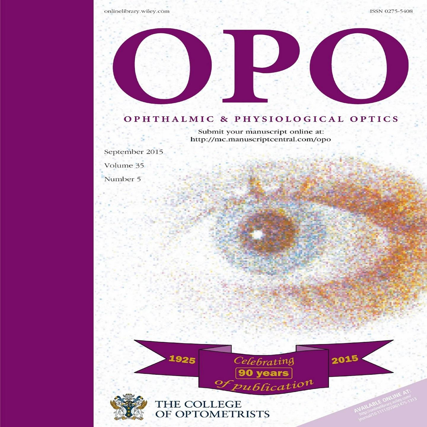 Ophthalmic and Physiological Optics - 90th Anniversary Podcast