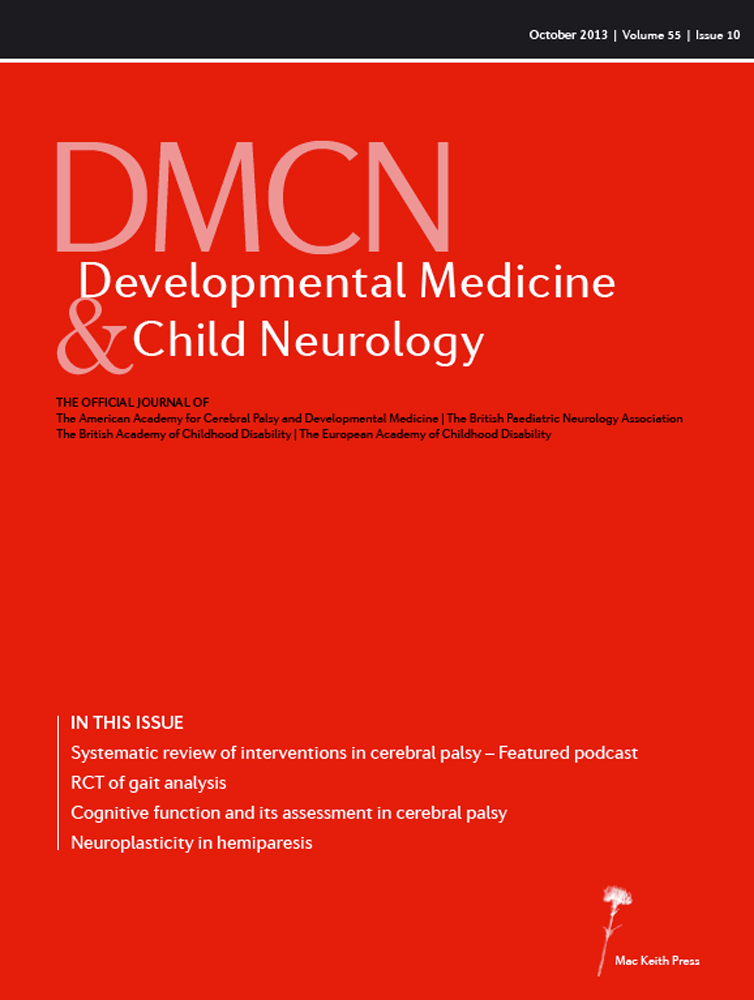 DMCN Discussion:Towards a definition of neurodisability: a Delphi survey