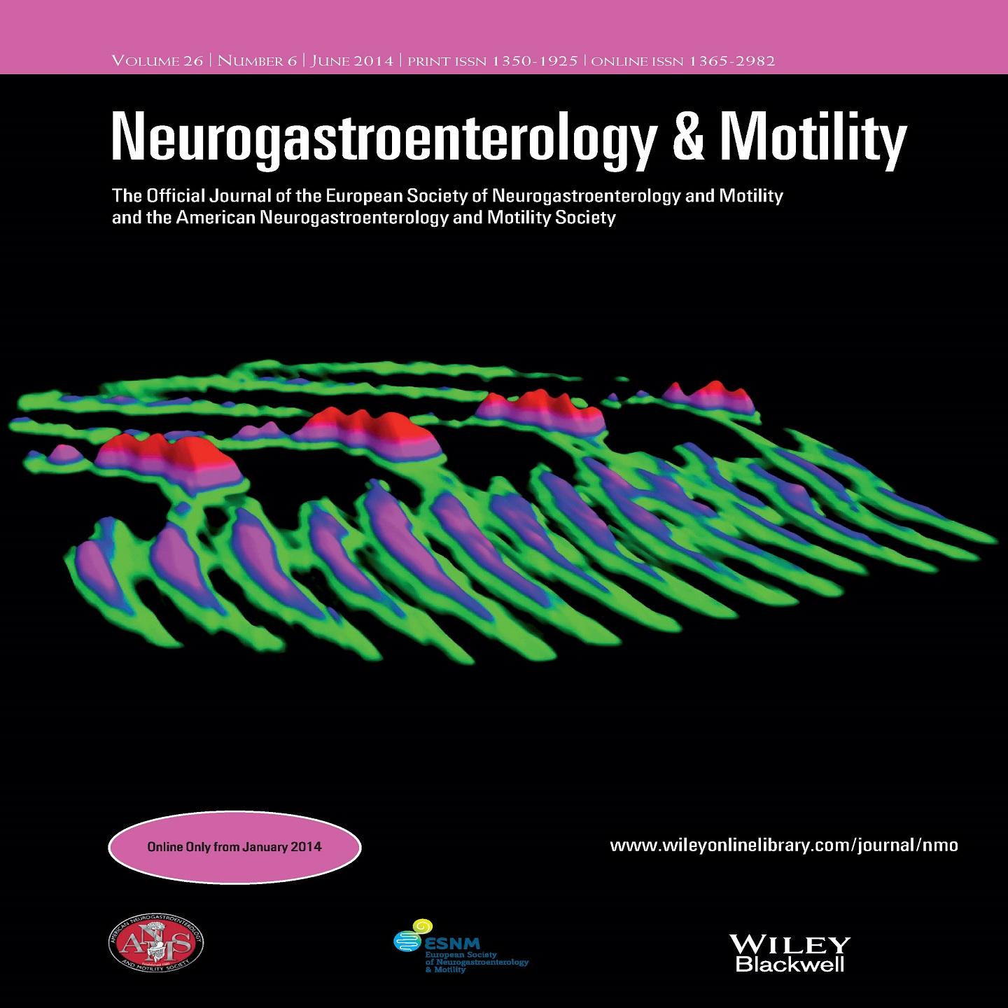 Neurogastroenterology and Motility – April 2015